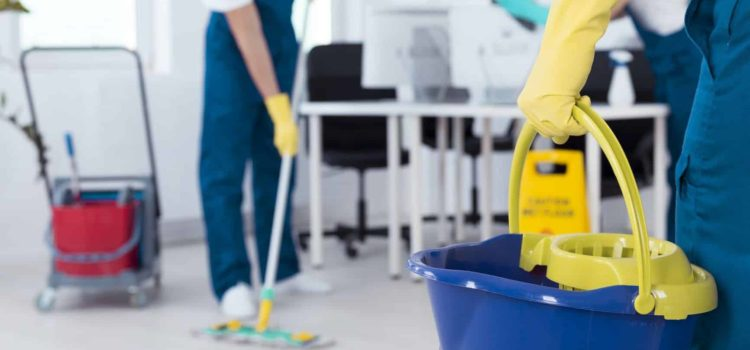High-Quality Office Floor Cleaning