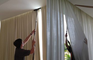 Comprehensive Curtain Cleaning Services