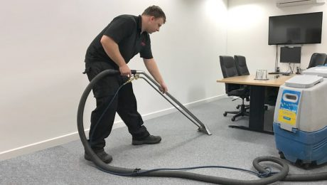 Office Carpet Cleaning – steam cleaning