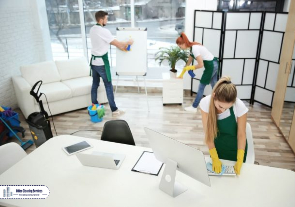 Our Weekly Office Cleaning Services Doesn't Disturb the Routine Work.
